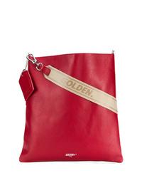 Bolso bandolera de cuero rojo de Golden Goose Deluxe Brand