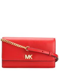 Bolso bandolera de cuero rojo de MICHAEL Michael Kors