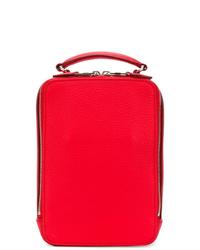 Bolso bandolera de cuero rojo de Sonia Rykiel