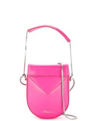 Bolso bandolera de cuero rosa de 3.1 Phillip Lim