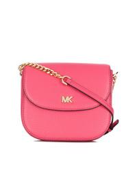 Bolso bandolera de cuero rosa de MICHAEL Michael Kors