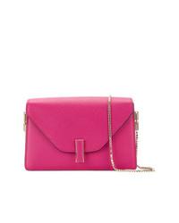 Bolso bandolera de cuero rosa de Valextra