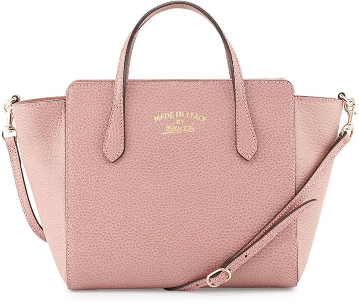 ... Bolso bandolera de cuero rosado de Gucci ... 3f36e5757a0