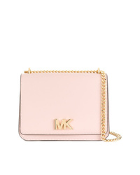 Bolso bandolera de cuero rosado de MICHAEL Michael Kors