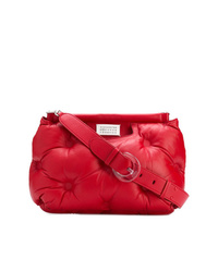 Bolso bandolera de nylon rojo de Maison Margiela