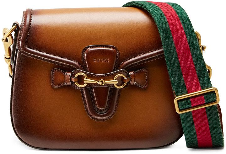 ... Bolso bandolera marrón de Gucci ... 8509f90fd2d