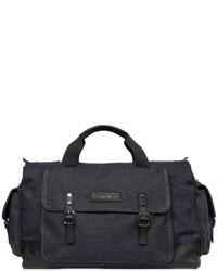 Bolso baúl azul marino de DSQUARED2