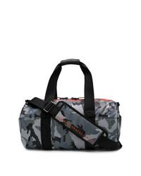 Bolso baúl de camuflaje gris de Diesel