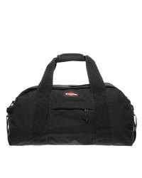 Bolso baúl de lona negro
