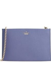 Bolso de cuero azul de Kate Spade