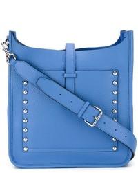 Bolso de cuero azul de Rebecca Minkoff