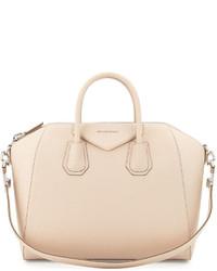 Bolso de cuero en beige de Givenchy