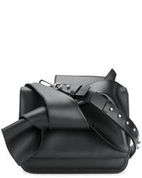 Bolso de cuero negro de No.21