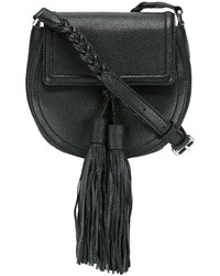 Bolso de cuero negro de Rebecca Minkoff