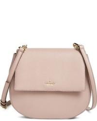 Bolso de cuero rosado de Kate Spade