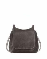d663e4117 Comprar un bolso de hombre de ante en gris oscuro: elegir bolsos de ...