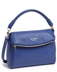 Bolso de hombre de cuero azul de Kate Spade