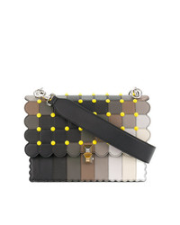 Bolso de hombre de cuero en multicolor de Fendi