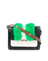 Bolso de hombre de cuero en multicolor de Marni