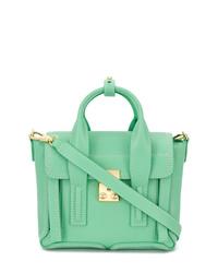 Bolso de hombre de cuero en verde menta de 3.1 Phillip Lim