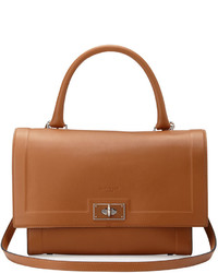 Bolso de hombre de cuero marrón de Givenchy