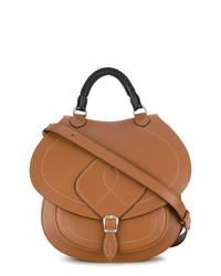 Bolso de hombre de cuero marrón de Maison Margiela