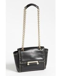 Bolso de hombre de cuero negro de Diane von Furstenberg