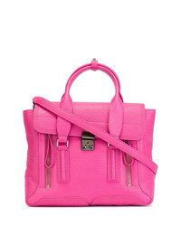 Bolso de hombre de cuero rosa de 3.1 Phillip Lim