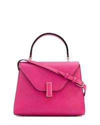 Bolso de hombre de cuero rosa de Valextra
