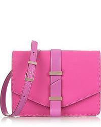 Bolso de hombre de cuero rosa de Victoria Beckham