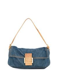 Bolso de hombre vaquero azul de Fendi Vintage