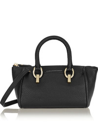 Bolso deportivo de cuero negro de Diane von Furstenberg