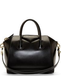 Bolso deportivo de cuero negro de Givenchy