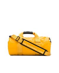 Bolso deportivo de lona amarillo de Diesel