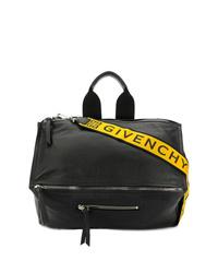 Bolso mensajero de cuero negro de Givenchy