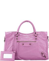 Bolso rosa de Balenciaga
