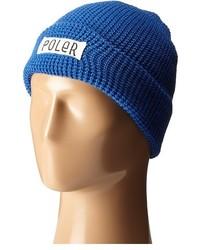 Bonnet bleu Poler