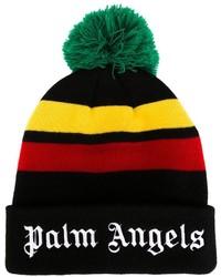 Bonnet noir Palm Angels