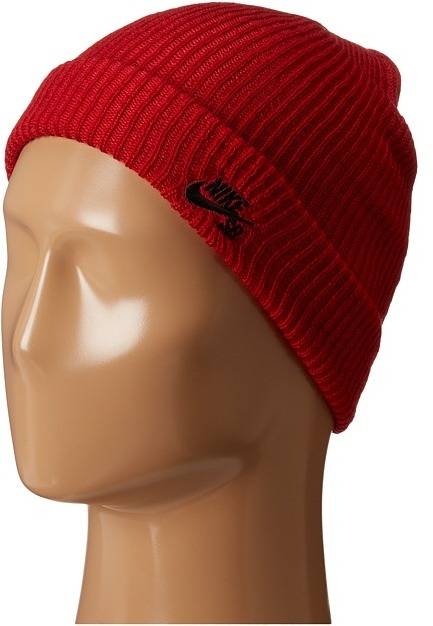 Bonnet rouge Nike