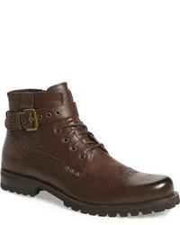 Botas brogue de cuero marrónes de Joe's Jeans
