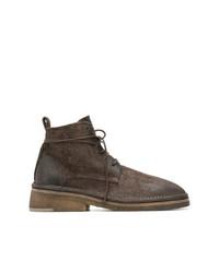 Botas casual de cuero marrónes de Marsèll