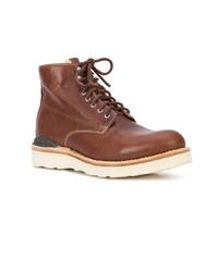 Botas casual de cuero marrónes de VISVIM