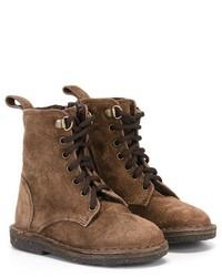 Botas de ante marrónes de Pépé