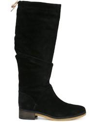 Botas de caña alta de ante negras de See by Chloe