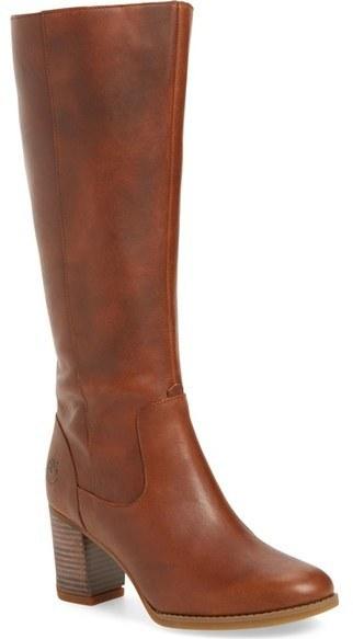 b0f98120 Botas de caña alta de cuero marrónes de Timberland, $249 | Nordstrom ...