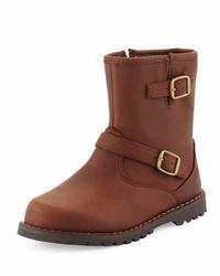Botas de cuero marrónes de UGG