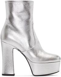Comprar unas botas plateadas de SSENSE: elegir botas