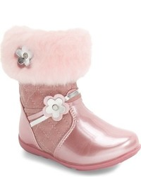 Botas de Cuero Rosadas de Laura Ashley
