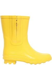 Botas de lluvia amarillas de Stella McCartney