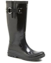 Botas de lluvia negras